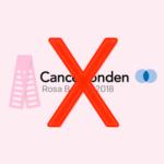 Ge inga pengar till Cancerfonden
